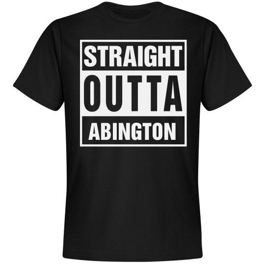Straight Outta Abington
