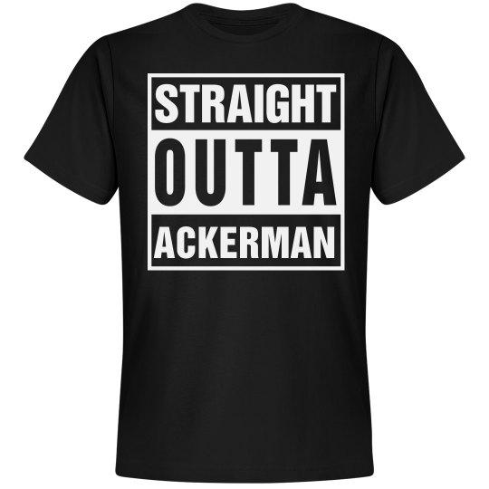 Straight Outta Ackerman