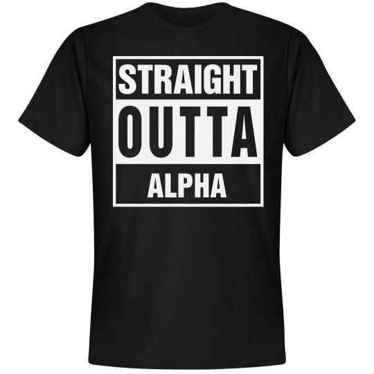 Straight Outta Alpha