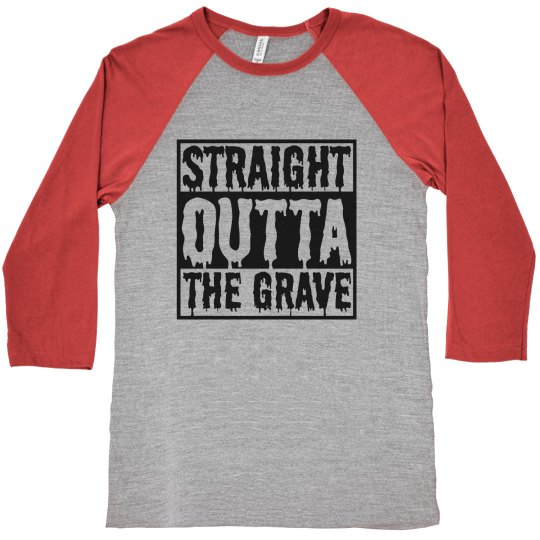 Straight Outta Grave Halloween Shirt