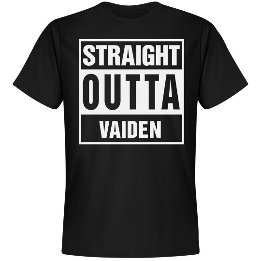 Straight Outta Vaiden