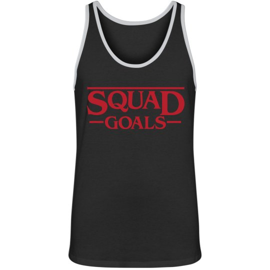 Stranger Squad Goals Muscle Tank