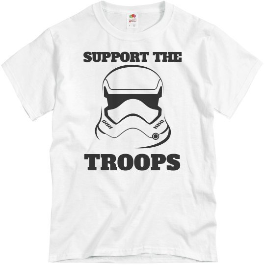 Support the Clone Troops