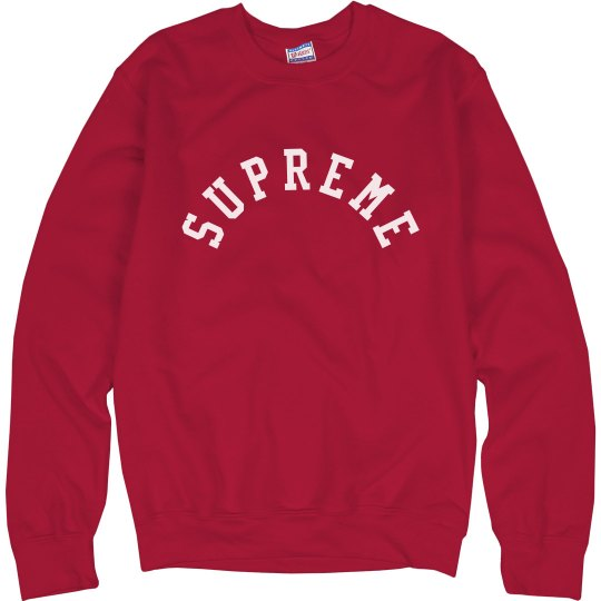 Supreme Arched Pullover