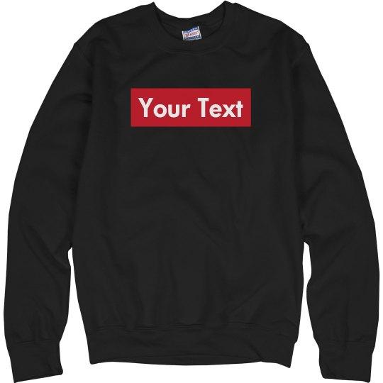 Supreme Box Sweatshirt