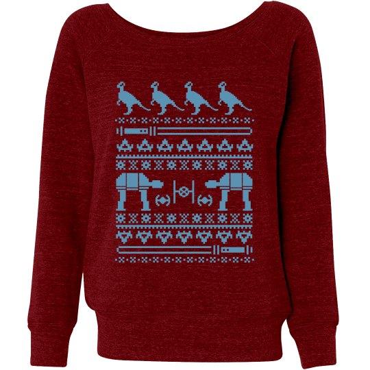 Sweater Spoiler Alert