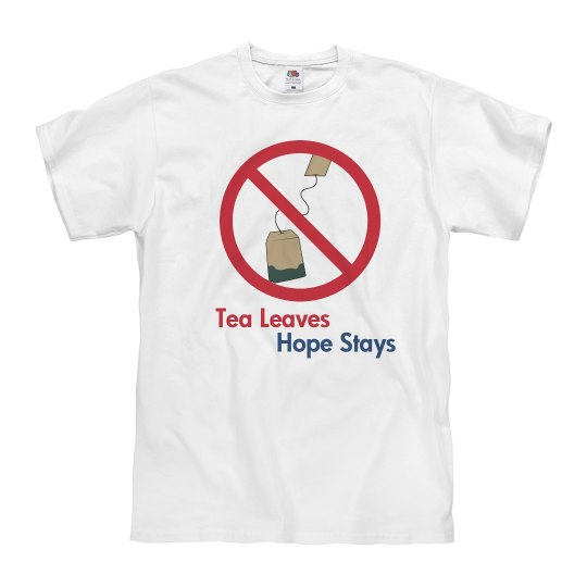 Tea Leaves Hope Stays