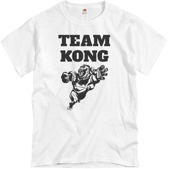 Team Kong Custom Shirt