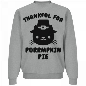 Thankful Pumpkin Pie Cat