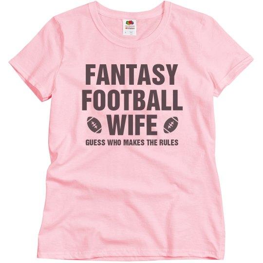 The Fantasy Football Wife