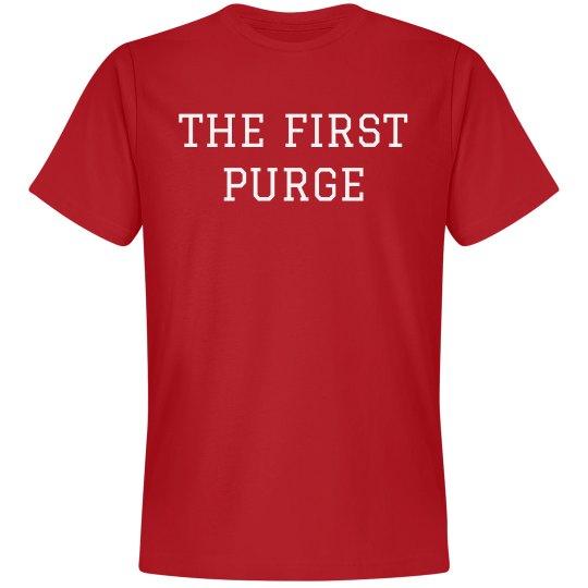 The First Purge Parody Tee