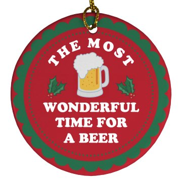 The Most Wonderful Time For A Beer