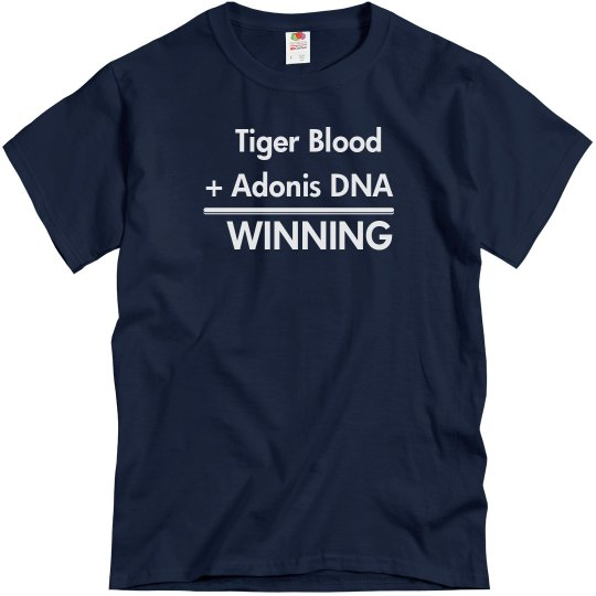 Tiger Blood Is Winning