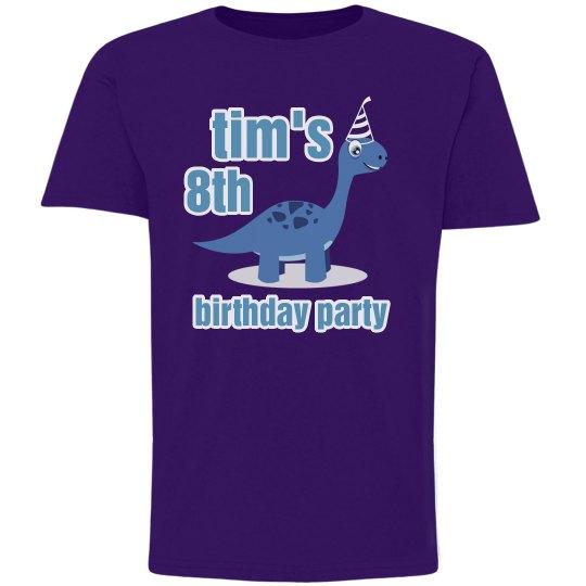 Tim's 8th Birthday Party