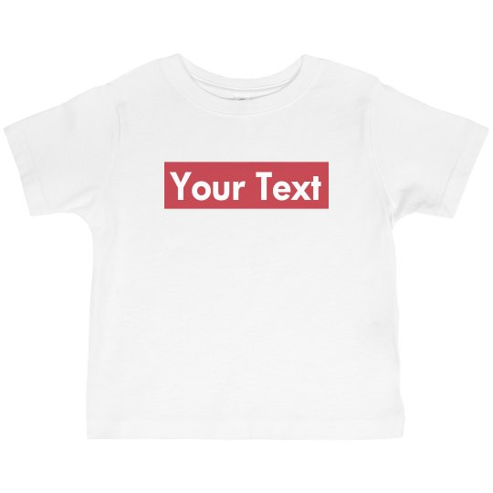 Toddler Supreme Parody T-shirt