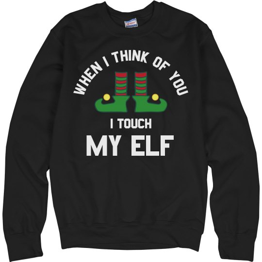 Touch My Elf Christmas Sweater