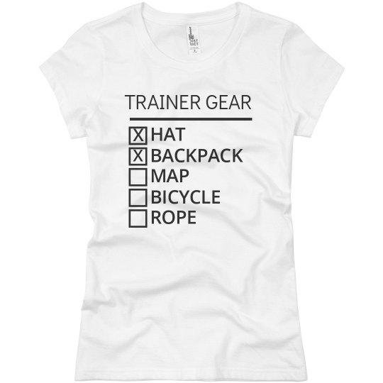 Trainer Gear List Basic Tee