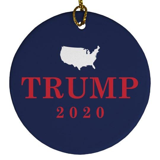 Trump 2016 Political Ornament