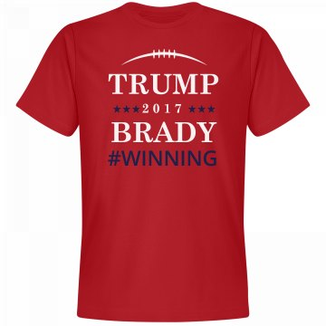 Trump And Brady Winning 2017