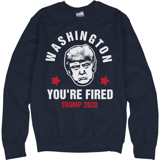 Trump Fires Washington