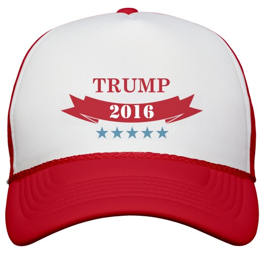 Trump for President Trucker Hat