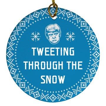 Trump Is Tweeting Through The Snow