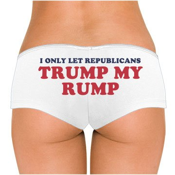 Trump My Rump Republican Underwear