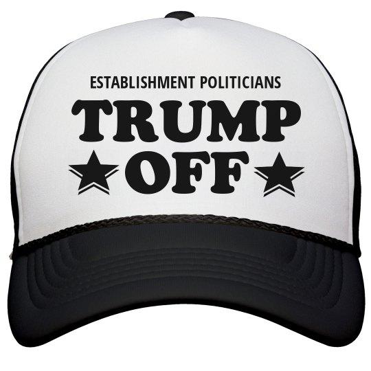 Trump Off Pro-Trump Hat