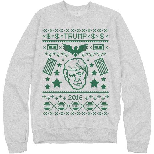 Trump's Richest Sweater