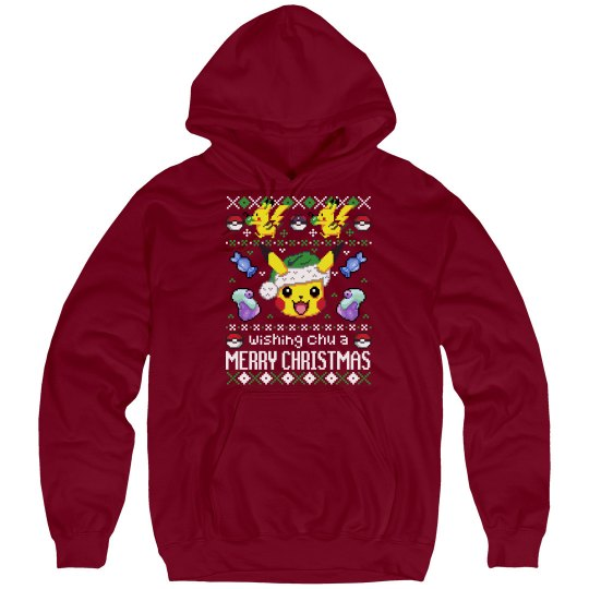 Ugly Merry Pika Christmas