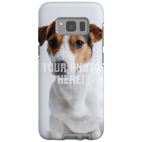Upload your Pet Photo Galaxy Case