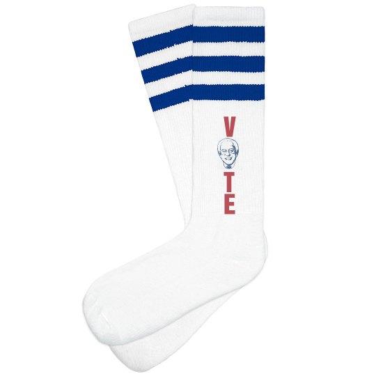 Vote Bernie Sanders Socks
