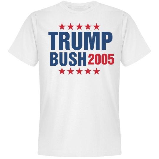 Vote Donald Trump / Billy Bush 2005 Shirt