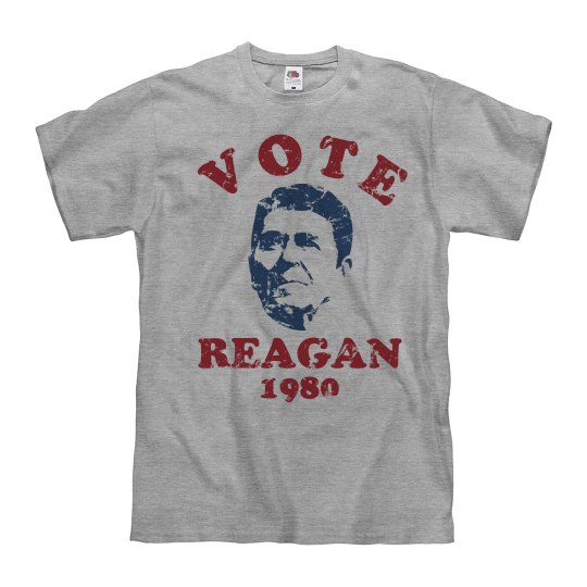 Vote Reagan Retro