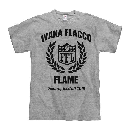 Waka Flacco Fantasy Football Tee