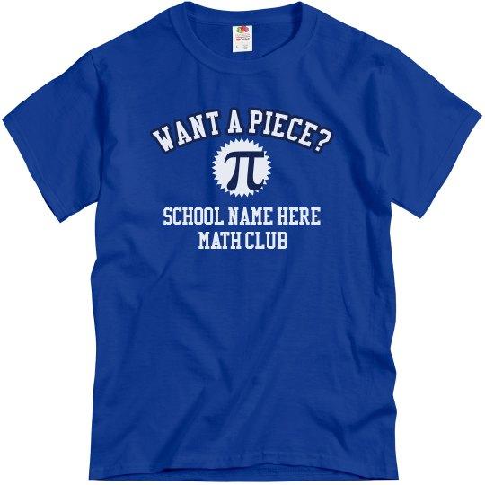 Want A Piece? Math Club