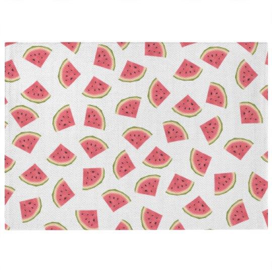 Watermelon Print Rug