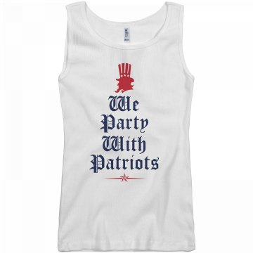 We Party With Patriots