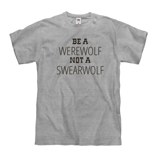 Wearwolf not a Swearwolf