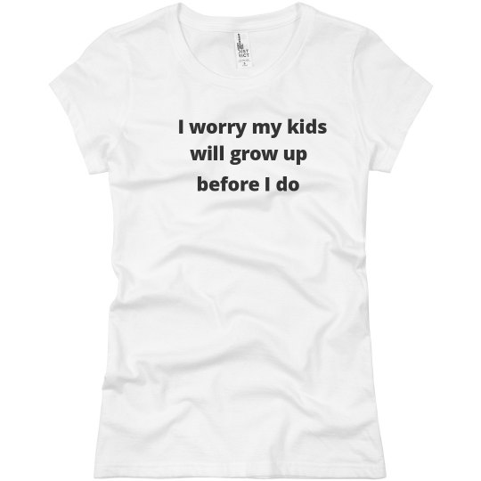 Will my kids grow up?