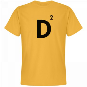 Word Games Costume, Letter Tile D