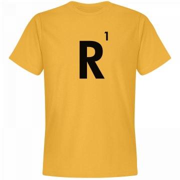 Word Games Costume, Letter Tile R