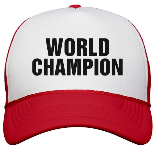 World Champion Hat