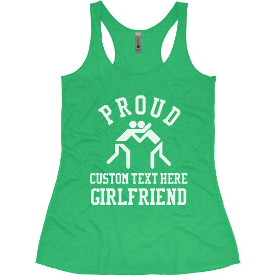 Wrestling Girlfriend Custom Text