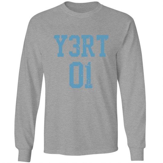 Y3RT grey L/S
