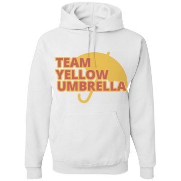 Yellow Umbrella Hoodie