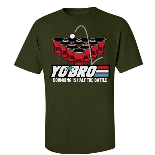 Yo Bro Beer Pong