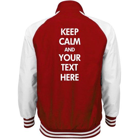Your Keep Calm Text
