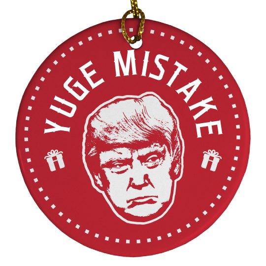 Yuge Mistake Christmas Trump
