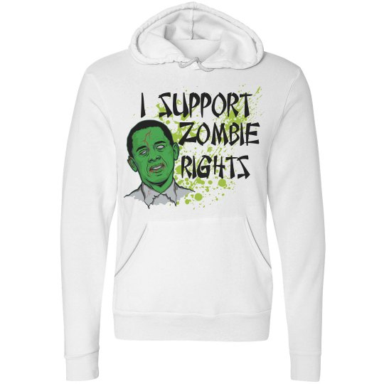 Zombie Rights Hoodie